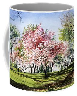 Spring Morning Coffee Mug by Barbara Jewell