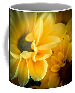 Coffee Mug featuring the photograph Spring Mums by Judy Hall-Folde