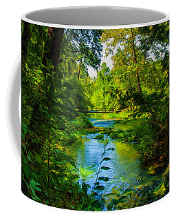 Spring Of Wonderment Coffee Mug by John M Bailey