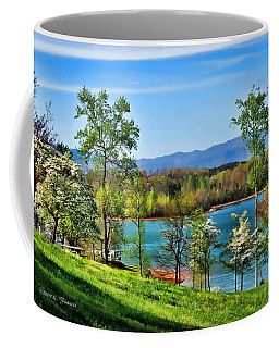 Spring On The Lake Coffee Mug
