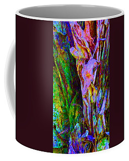 Spring Paperbark Tree Abstract  Coffee Mug