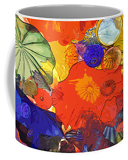 Coffee Mug featuring the digital art Spring Poppies by Kirt Tisdale