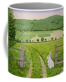Spring Rabbit Coffee Mug