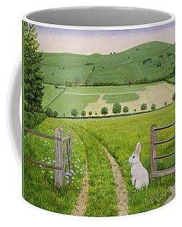 Spring Rabbit Coffee Mug