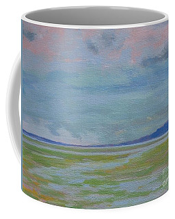 Spring Rain At Lake Jackson Coffee Mug