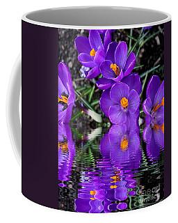 Coffee Mug featuring the photograph Spring Reflection by Judy Palkimas