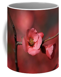 Spring Richness - Flowering Quince Coffee Mug