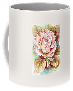 Spring Rose Coffee Mug by Inese Poga