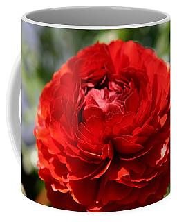 Spring Scarlet Double Begonia Coffee Mug