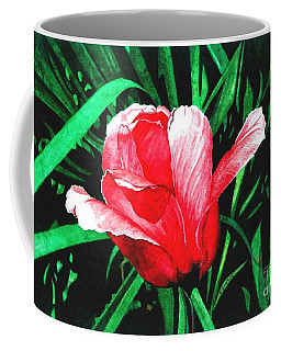 Coffee Mug featuring the painting Spring Solo by Barbara Jewell