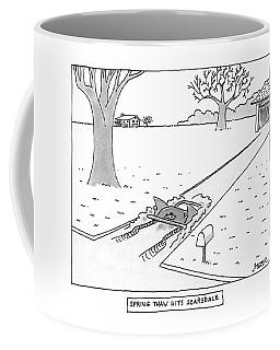 Spring Thaw Hits Scarsdale Coffee Mug