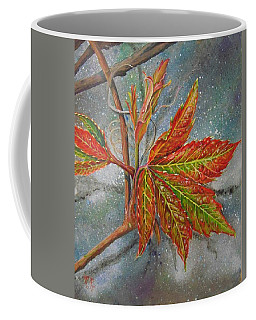 Spring Virginia Creeper Coffee Mug