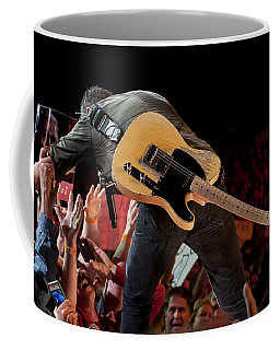 Coffee Mug featuring the photograph Springsteen In Charlotte by Jeff Ross