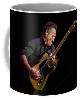 Coffee Mug featuring the photograph Springsteen Shreds by Jeff Ross
