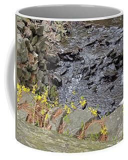 Springtime Creek Coffee Mug by Christina Verdgeline