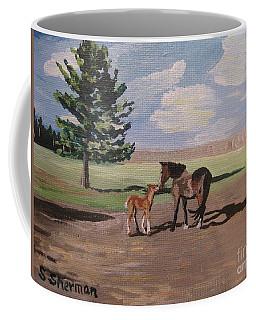 Springtime Foal Coffee Mug