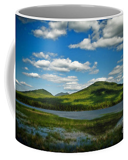 Coffee Mug featuring the photograph Springtime In The Bigelow Mountains by Alana Ranney