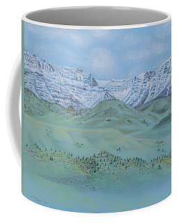 Springtime In The Rockies Coffee Mug