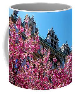 Springtime On Commonwealth Avenue Coffee Mug
