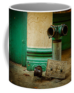 Sprinkler Green Coffee Mug