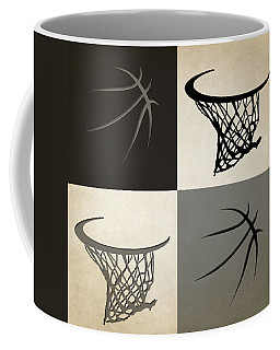 Spurs Ball And Hoop Coffee Mug