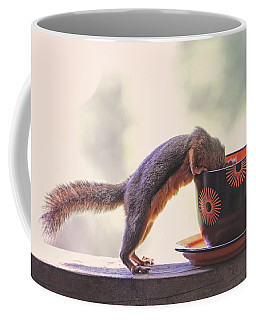 Squirrel And Coffee Coffee Mug