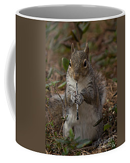 Squirrel With His Obo Coffee Mug