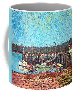 St Andrews Wharf Coffee Mug