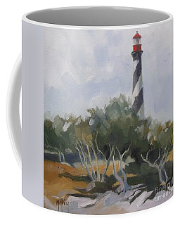 St Augustine Lighthouse First Light Coffee Mug