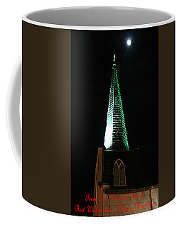 St. Augustine Moon Christmas Card Coffee Mug