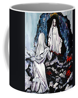 St. Bernadette At The Grotto Coffee Mug