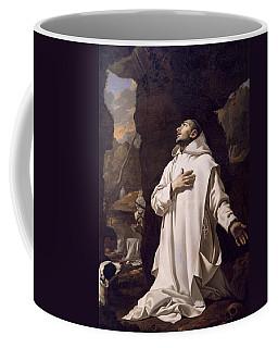 St Bruno Praying In Desert Coffee Mug
