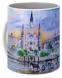 St. Charles New Orleans Sunset Coffee Mug