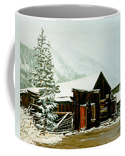 St Elmo Snow Coffee Mug