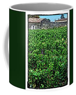 Coffee Mug featuring the photograph St. Emilion Winery by Joan  Minchak