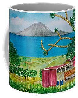 St. Eustatis From St. Kitts Coffee Mug by Frank Hunter