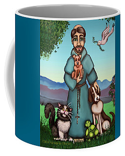 St. Francis Libertys Blessing Coffee Mug