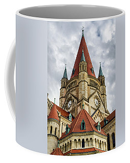 St. Francis Of Assisi Church In Vienna Coffee Mug