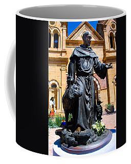 St Francis Of Assisi - Santa Fe Coffee Mug