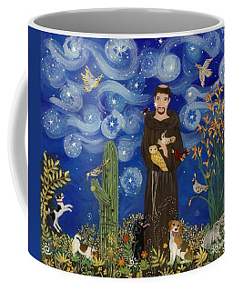 St. Francis Starry Night Coffee Mug