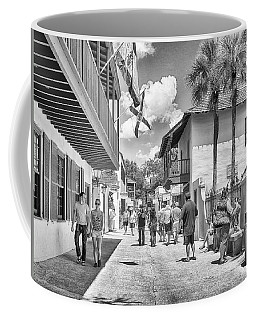 Coffee Mug featuring the photograph St. Geroge Street by Howard Salmon