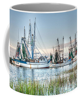 St. Helena Island Shrimp Boats Coffee Mug