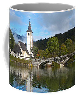 St Johns Church - Lake Bohinj Coffee Mug