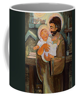 St. Joseph And Baby Jesus Coffee Mug