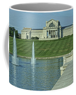 St Louis Art Museum And Grand Basin Coffee Mug