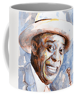 Coffee Mug featuring the painting St. Louis Blues 2 by Laur Iduc