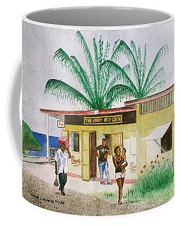 St. Lucia Store Coffee Mug by Frank Hunter
