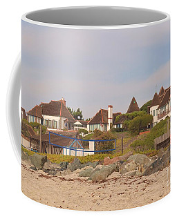 Coffee Mug featuring the photograph St. Malo Beach by Laurie Lundquist