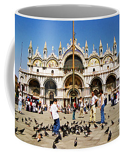 Coffee Mug featuring the photograph St. Mark's Basilica  by Allen Beatty