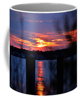 Coffee Mug featuring the photograph St. Marten River Sunset by Bill Swartwout